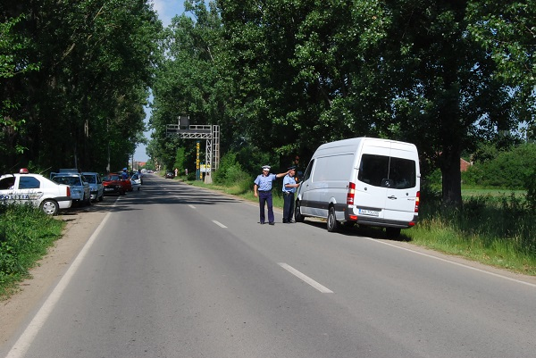 Atenție arădeni: sute de polițiști și 14 radare în stradă în acest week-end