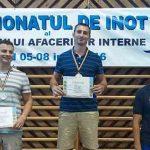 Jandarm arădean, campion național la înot