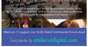 Atelierul Digital ajunge la Arad