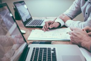 office birou internship corporate laptop business
